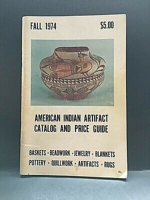 1974 American Artifact Catalog and Price Guide.  96 Pages.    X9