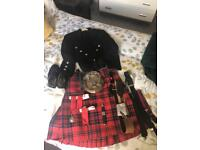 Full highland dress outfit