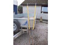Post hole shovels, heavy duty