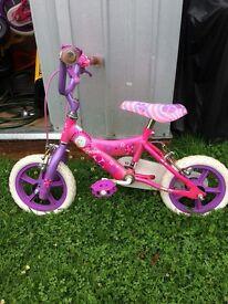 X2 girls barbie bikes