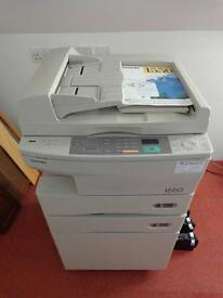 Toshiba 1550 black and white photocopier