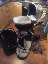 Mothercare spin orb travel system
