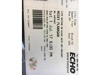 Mickey Flanagan tickets for tonight !!!!