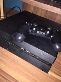 Sony PlayStation 4 ( with 1 Dualshock 4 controller)