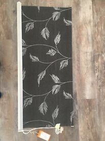 Roller Blind - Brand New and Unused. Grey/Silver