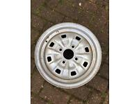 Mk1/Mk2 Escort Cortina steel wheel