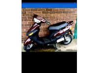 E-max electric moped scooter like new unregistered