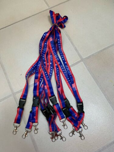 *NEW* Trump Lanyards - 2020 Keep America Great  FREE SHIPPING! LOT OF 10 Pieces
