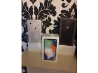 Apple iPhone X 64GB brand new and sealed in box