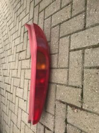 2 x Fiat Punto rear light clusters from 53 plate car
