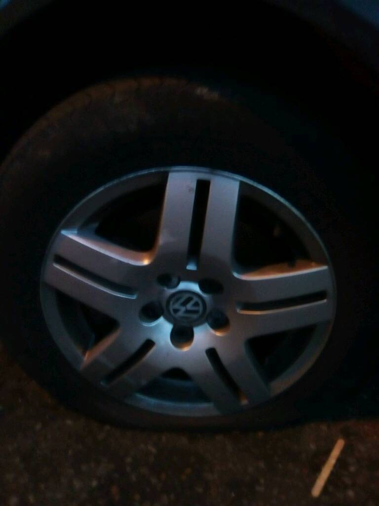 Geniune VW wheels