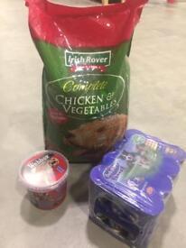Dog food supplies