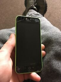iPhone 5c spare or repairs