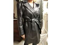 La Rocka Vintage Leather Coat