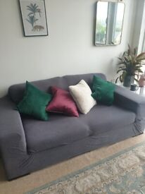 2 Seater Duck Feather Sofa