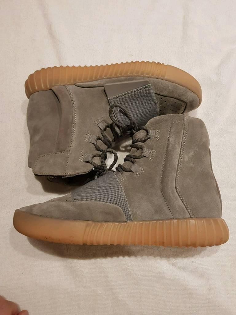 e21acb9760297 Adidas Yeezy Boost 750 Grey Gum UK 8.5