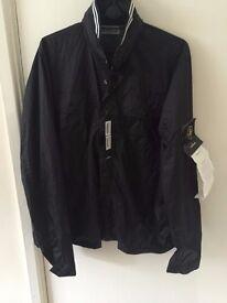 Black Stone Island Membrana Jacket