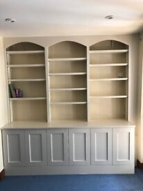 Fitted Shelving/Cupboard