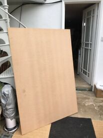 4 large sheets of 12mm MDF