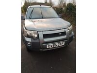 LANDOVER FREELANDER 55 REG 1000 no offers if gone tday