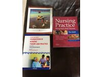 Adult nursing books for sale, also suitable for 1st year mental health nursing.