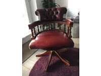 Chesterfield Captains chair , used good condition