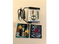 Sony Walkman MZ-R700 Personal MiniDisc Player with two blank minidiscs