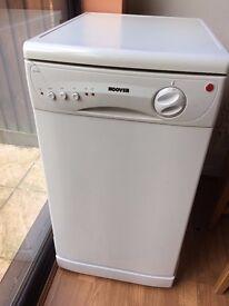 hoover slimline dishwasher