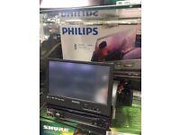 phillips car studio ced780 full touch screen motorised bluetooth, dvd, mp3 sat nav in car stereo