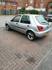 Ford fiesta small car alloy wheels MOT and tax start driving good cheap tax cheap insurance petrol