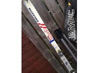 Blizzard 4 quattro thermo skis with Salomon SX SKI Boots