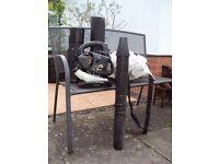 Leaf Blower/Garden Vac. McCulloch GBV 345 25cc 2-Stroke Petrol Blower & Vacuum