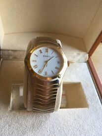 EBEL Watch Classic Swiss made | 18K Gold | Battery | Date & Time | 30M Water resistant | Cheap offer