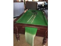 2 pool tables for sale great condition