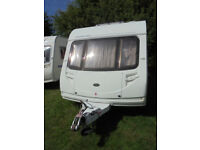 2005 Sterling Europa 460 - 2 Berth Touring Caravan With Rear Washroom