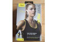 Jabra sport pulse wireless earphone black
