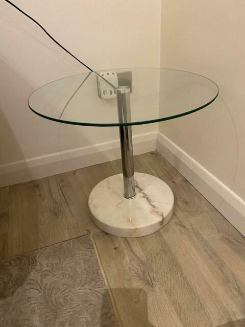 Round Glass Side Table In Edmonton London Gumtree