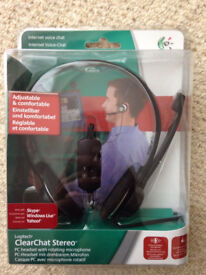 Logitech ClearChat Wired Stereo PC Headphone