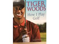 Tiger Woods book BRAND NEW