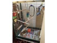 Parrot cage is for sale