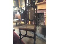 Jacobean hall chair