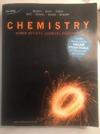 Chemistry. Human activity, chemical reactivity.