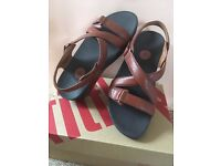 Fit-Flop Sandals - Brand New - Size 6 - Colour: Brown - In original Box: Unwanted Gift