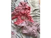 Girls baby bundle in size 3-6 months