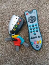 ELC keys & remote control