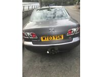Mazda 6 forsale for scrap/parts