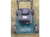 hayter lawn mower petrol Briggs and Stratton easy start engine