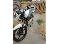 Yamaha YBR 125cc spares or repair