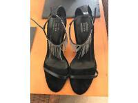 Bertie sandals in black size 7