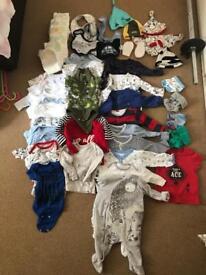 Boys 0-3 months bundle
